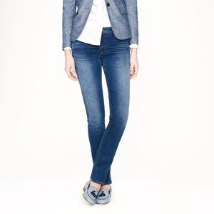 J Crew med faded wash matchstick skinny jeans